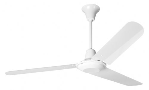 "Eurofans Commercial 56"" White  Ceiling Fan 111894"
